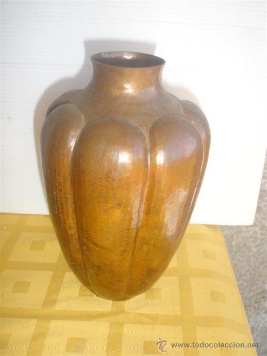 JARRON DE COBRE (Antigüedades - Hogar y Decoración - Jarrones Antiguos)