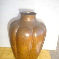 Antigüedades: JARRON DE COBRE. Lote 29964914