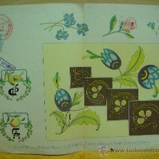 Antigüedades: EL CONSULTOR DE LOS BORDADOS LAMINA. Lote 29965015