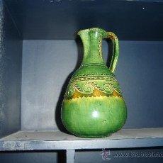Antigüedades: JARRON DE CERAMICA DE UBEDA. MAESTRO ALFARERO. TITO. 22 CTS. ALTURA.. Lote 29969513