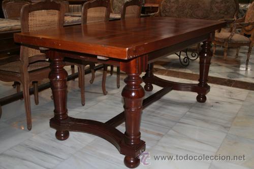 mesa extensible, para comedor, años 50 ref.5012 - Comprar Mesas ...