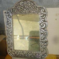 Antigüedades: ESPEJO DE PEWTER. Lote 29972408