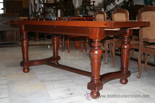 mesa extensible, para comedor, años 50 ref.5012 - Kaufen Antike ...