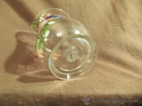 Antigüedades: preciosa jarra de cristal siglo XVIII O PPS. xix - Foto 3 - 29979437