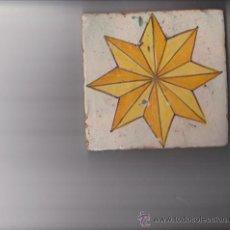 Antigüedades: BALDOSA CATALANA S.XVIII. Lote 30015197