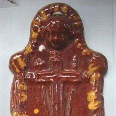 Antigüedades: BENDITERA DE CERAMICA POPULAR CATALANA. Lote 30115133