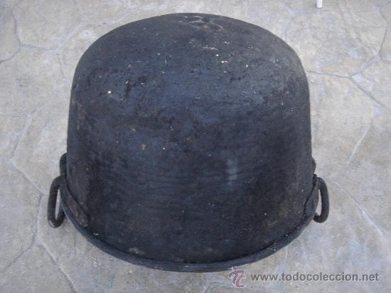Antigüedades: BASE DE LA CALDERA -BOCA ABAJO- - Foto 3 - 30040493