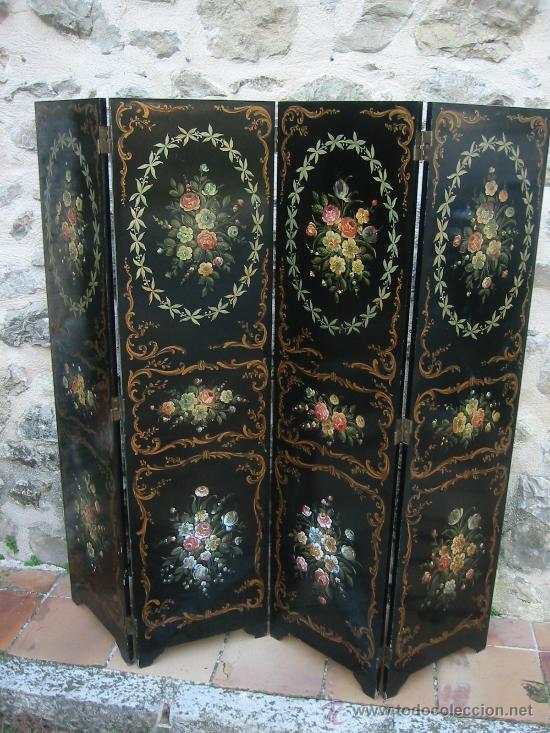 PARAVAN ISABELINO (Antigüedades - Muebles Antiguos - Auxiliares Antiguos)