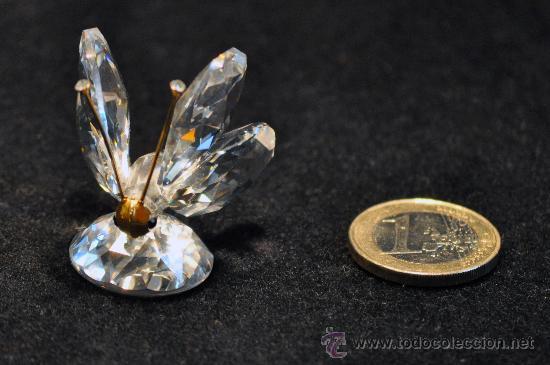 FIGURA MARIPOSA SWAROVSKI IMPECABLE (Antigüedades - Cristal y Vidrio - Swarovski)