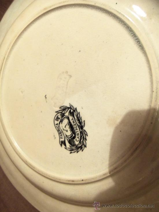 Antigüedades: Bonita pieza de ceramica de Cartagena - Foto 2 - 30064884