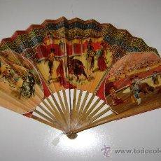 Antigüedades: ABANICO DE TOROS. Lote 30067502