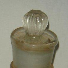 Antigüedades: FRASCO DE CRISTAL ANTIGUO , SIGLO XVIII O XIX. Lote 30084873