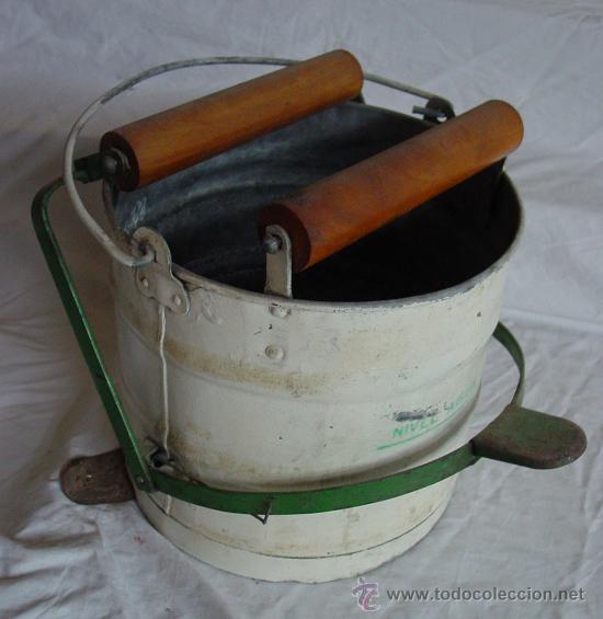 Antiguo cubo fregona rodex comprar utensilios del hogar for Utensilios del hogar