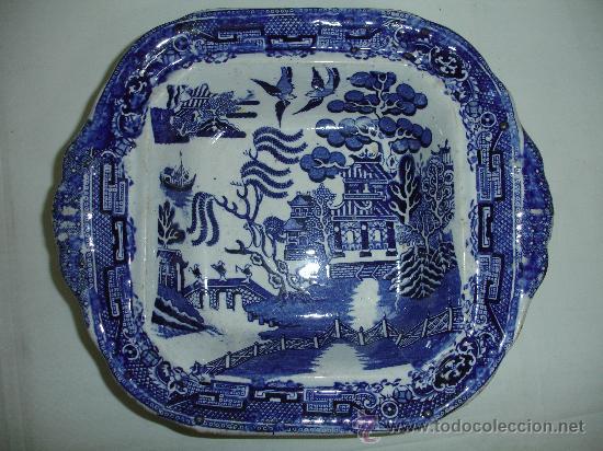 Antigüedades: Preciosa legumbrera Chinablue / siglo XIX - Foto 6 - 30254519