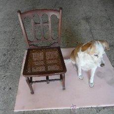 Antigüedades: SILLA PEQUEÑA PLEGABLE. Lote 30099647