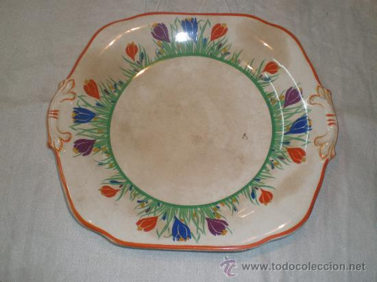 ANTIGUO PLATO DE LOZA (Antigüedades - Porcelanas y Cerámicas - Otras)