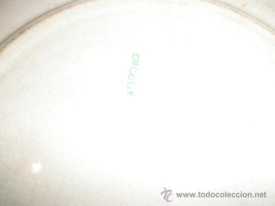 Antigüedades: ANTIGUO PLATO DE LOZA - Foto 3 - 30148170