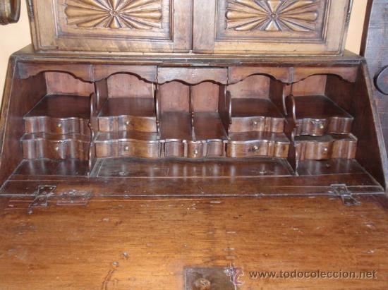 Antigüedades: Alacena, buro-escritorio, cajonera medida 240X104X55. - Foto 7 - 24196334