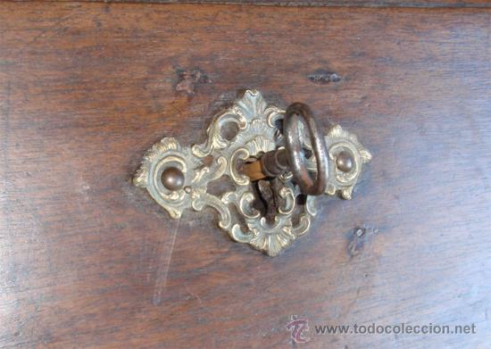 Antigüedades: Alacena, buro-escritorio, cajonera medida 240X104X55. - Foto 9 - 24196334