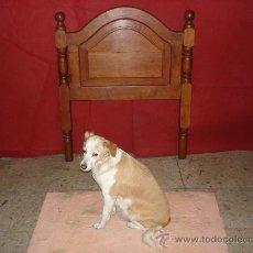 Antigüedades: CAMA DE MADERA . Lote 30113967