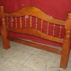 Antigüedades: CABECERO BARROTES RUSTICO. Lote 30114607