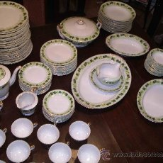 Antigüedades: SAJI MADE IN JAPAN FANCY CHINA AÑOS 50 VAJILLA 96 PIEZAS. Lote 30124104
