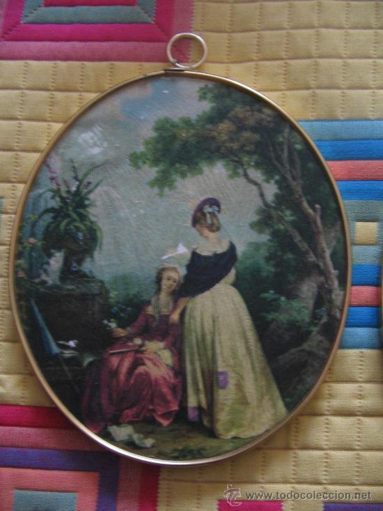 Antigüedades: Pareja cuadros - Foto 2 - 30138222