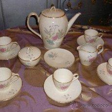 Antigüedades: JUEGO DE CAFÉ ALEMÁN. Lote 30151709