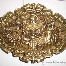 Antigüedades: ANTIGUO CENTRO DE MESA DE BRONCE.. Lote 30165641