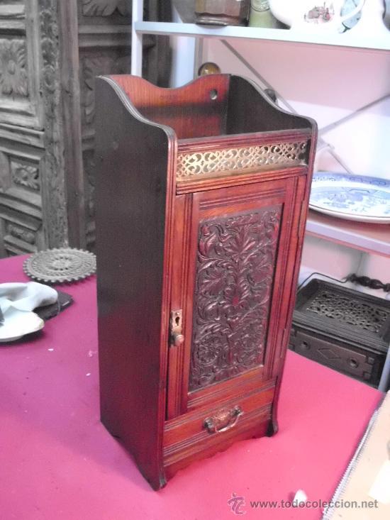 antiguo mueble auxiliar inglés pipero? años 30 - Comprar Muebles ...