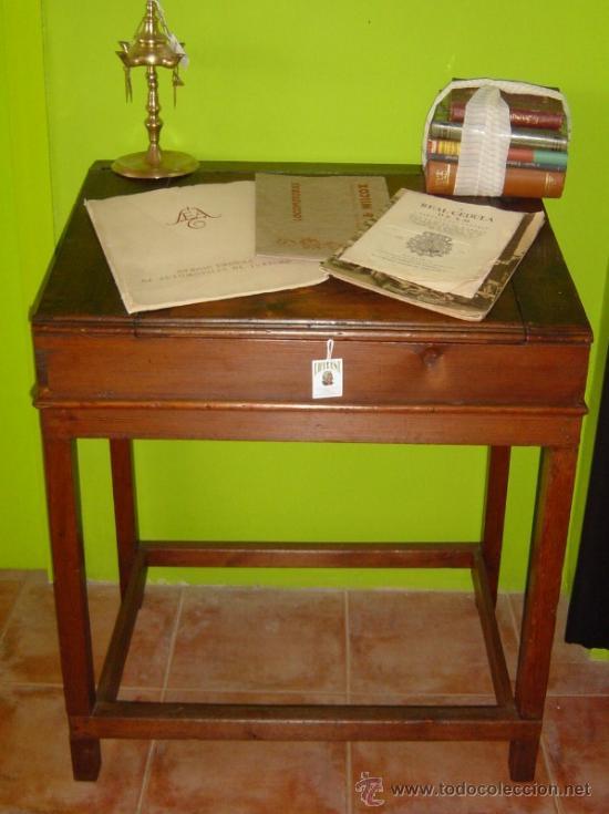 PUPITRE / SIGLO XIX (Antigüedades - Muebles Antiguos - Mesas Antiguas)