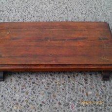 Antigüedades: PEANA-BASE-PLATAFORMA, MADERA DE PINO. PEDESTAL.. Lote 30177743