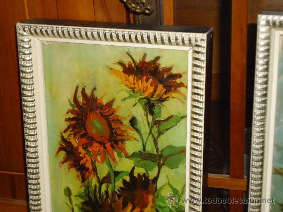 Tres bonitos cuadros alargados con temas floral comprar for Comprar cuadros bonitos