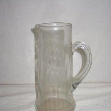 Antigüedades: JARRA DE CRISTAL ANTIGUA. Lote 30184430