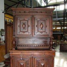 Antigüedades: APARADOR / ALACENA ALFONSINO,ROBLE REF.5035. Lote 30205135