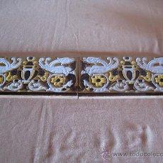 Antigüedades: LOTE DE DOS AZULEJOS ANTIGUOS DE TRIANA - SEVILLA -. Lote 30209175