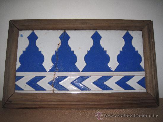 AZULEJO SEVILLANO - SEVILLA / TRIANA- CERAMICA RAMOS REJANO. (Antigüedades - Porcelanas y Cerámicas - Triana)