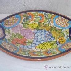 Antigüedades: BANDEJA DE CERAMICA. Lote 30218011