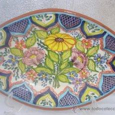 Antigüedades: BANDEJA DE CERAMICA. Lote 30218111