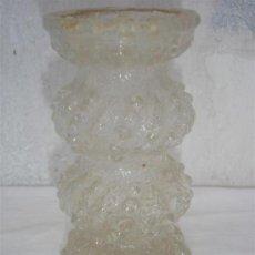 Antigüedades: FLORERO DE CRISTAL TALLADO. Lote 30218156