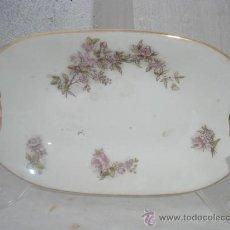 Antigüedades: BANDEJA DE PORCELANA ANTIGUA. Lote 30218275