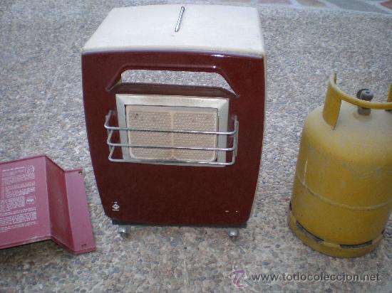 Peque a estufa de butano comprar utensilios del hogar antiguos en todocoleccion 30232998 - Estufas pequenas de gas ...