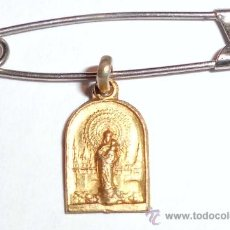 Antigüedades: MEDALLITA RELIGIOSA DE LA VIRGEN Nº52. Lote 30243701