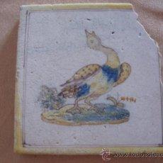 Antigüedades: AZULEJO DE TALAVERA - CERAMICA RUIZ DE LUNA -. Lote 30250437