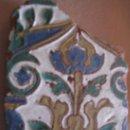 Antigüedades: AZULEJO DE TOLEDO -TECNICA DE ARISTA O CUENCA - RENACIMIENTO CON INFLUENCIA MUDEJAR. 1/3 SIGLO XVI.. Lote 30251136