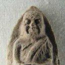 Antigüedades: AMULETO BUDISTA TAILANDÉS REALIZADO EN CERÁMICA. Lote 30256398