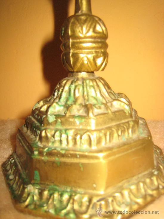 Antigüedades: PRECIOSO CANDELABRO EN BRONCE CON OCHO BRAZOS - Foto 3 - 30252079