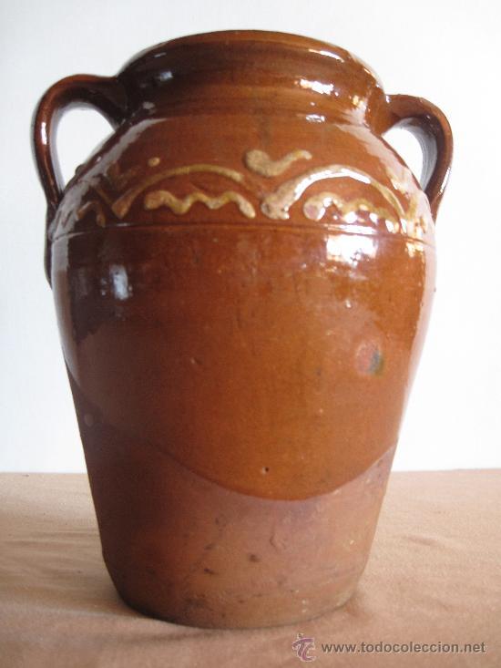 ORZA EN CERAMICA VIDRIADA DE ALBA DE TORMES ( SALAMANCA ) (Antigüedades - Porcelanas y Cerámicas - Otras)