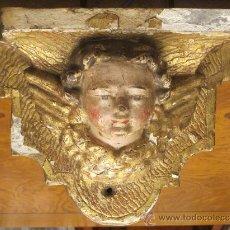 Antigüedades: ANTIGUA MÉNSULA ANGEL. Lote 30277925