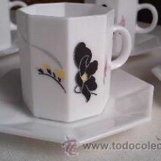 Antigüedades: JUEGO DE CAFÉ ARCOPAL FRANCIA.. Lote 30284449